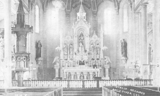 old picture of a church