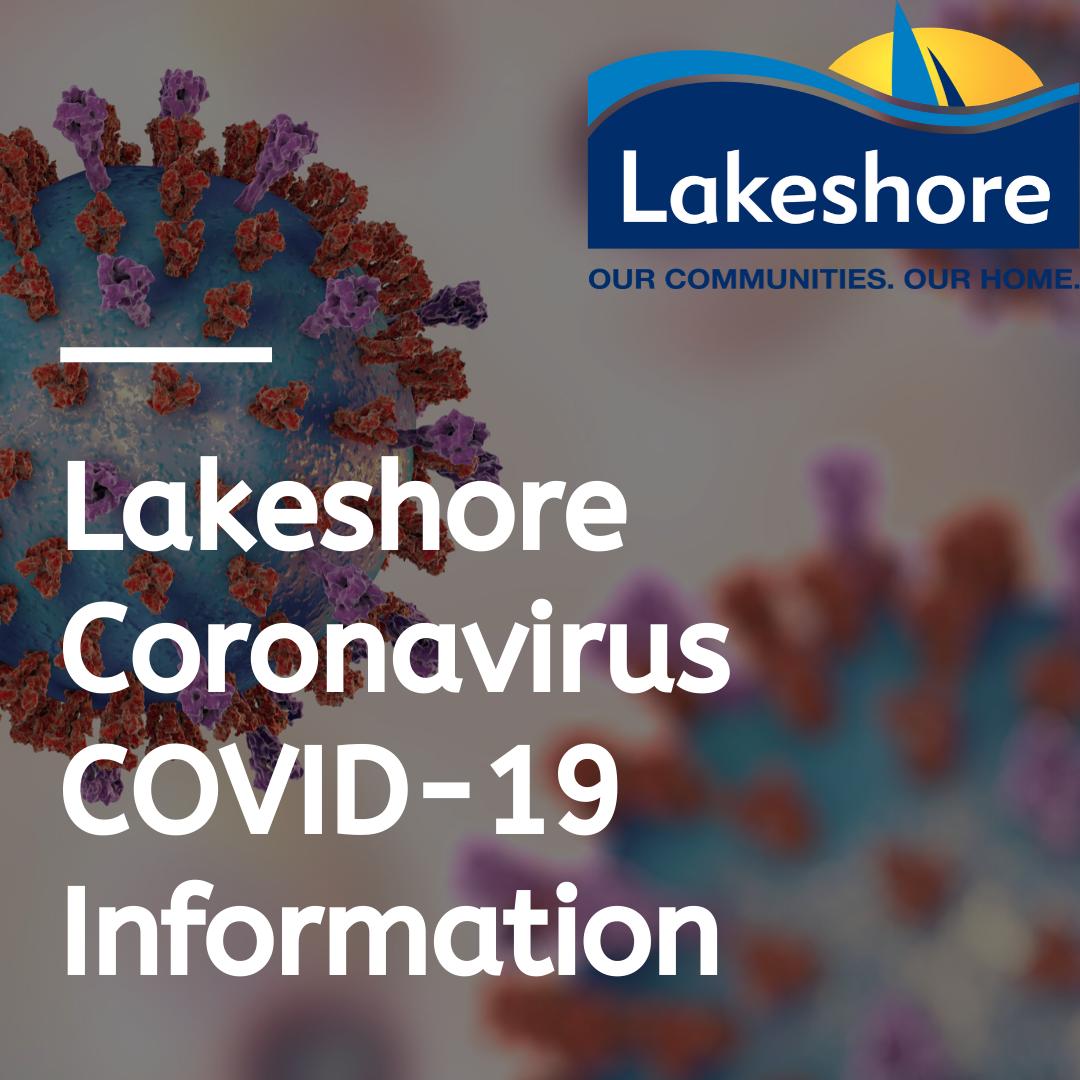 Lakeshore COVID-19 information