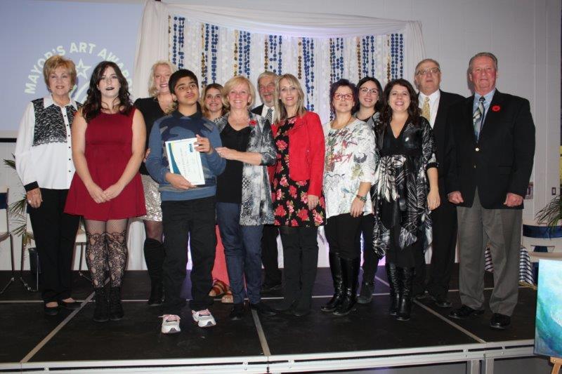 Click here for Mayor's Art Award ceremony